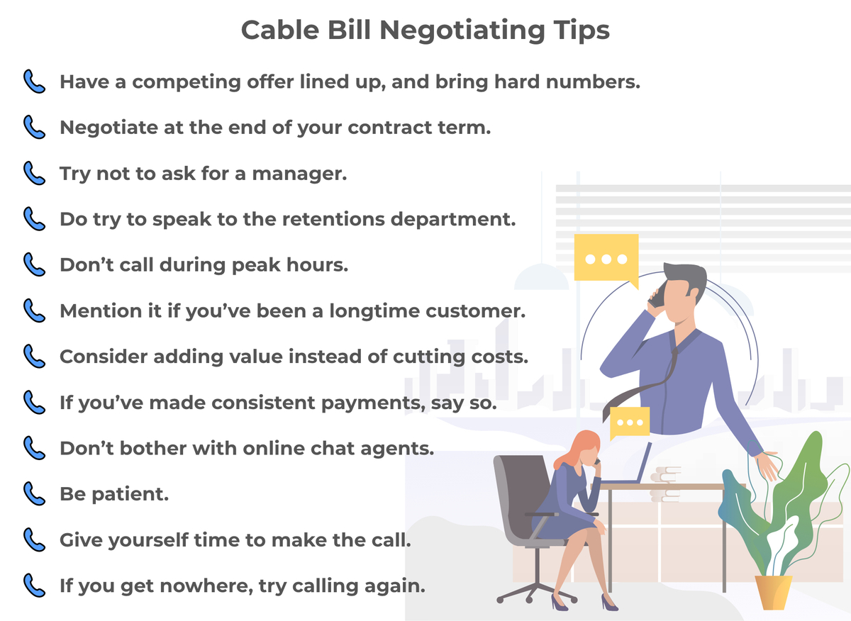 Cable Bill Negotiating Tips